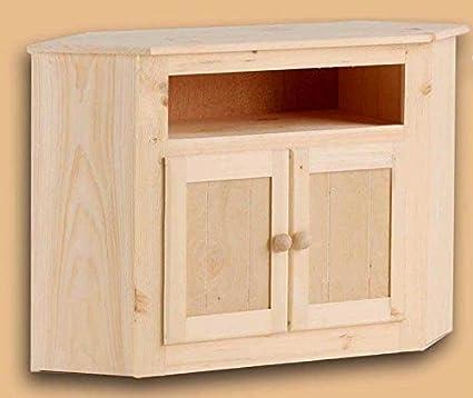 Dover Unfinished Corner TV Cabinet