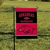 BSI Products, Inc. – Arkansas Razorbacks-2-Sided Garden Flag