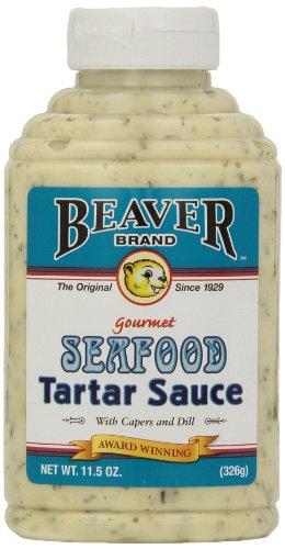 Beaver Brand Tartar Sauce, 11.5-Ounce Squeezable Bottles (Pack of 6) (Best Store Bought Tartar Sauce)