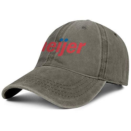 Bombline Mens Womens Meijer- Adjustable Retro Summer Travel Hats Trucker Washed Dad Hat Cap -