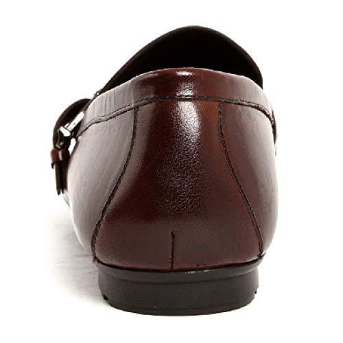 Moda Scarpe A Set Tonda da da Feet in Coffee Uomo of Pelle Lavoro Scarpe Light Testa Atmosfera Comfort nInP041