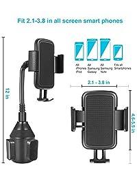 Lorima - Soporte para teléfono móvil (universal, ajustable, portátil, para coche)