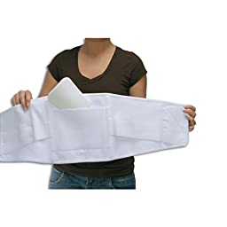 Triple Pull Elastic Lumbosacral Belt Size: 3 Extra Large, Accessory: Without Pad