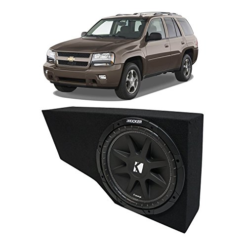 Fits 2002-2009 Chevy Trailblazer Kicker Comp C12 Single 12″ Custom Sub Box Enclosure New – Final 4 Ohm
