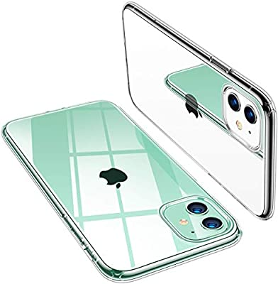 TORRAS Crystal Clear iPhone 11 Case, [Anti-Yellow] Thin Slim [Anti-Scratch] Shockproof Soft TPU Cover Case for iPhone 11 6.1 inch