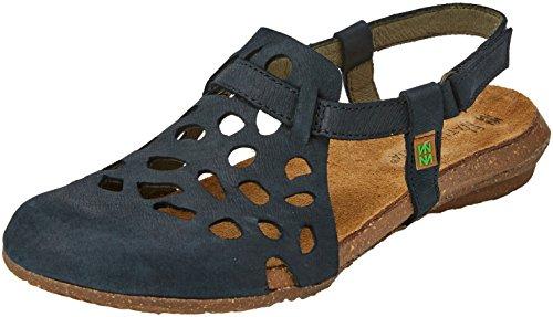 El Naturalista Women's N5063 Closed Toe Sandals Black EF1ul3qb