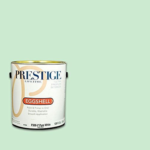 (Prestige, Greens and Aquas 4 of 9, Interior Paint and Primer In One, 1-Gallon, Eggshell, Mint Jelly)