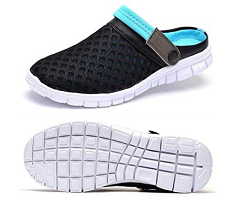Lisyline Men's Breathable Mesh Shoes Beach Sandal Aqua Walking Anti-Slip Slippers