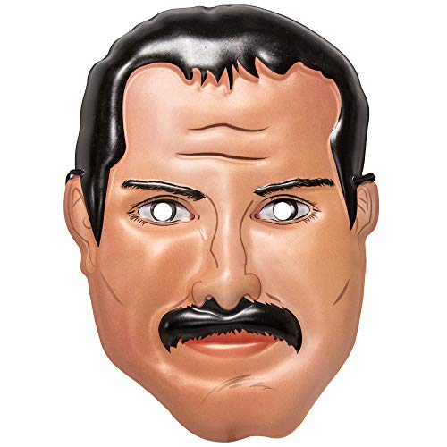 360 Party Lab Augmented Reality Adult Freddie Mercury Queen Mask -