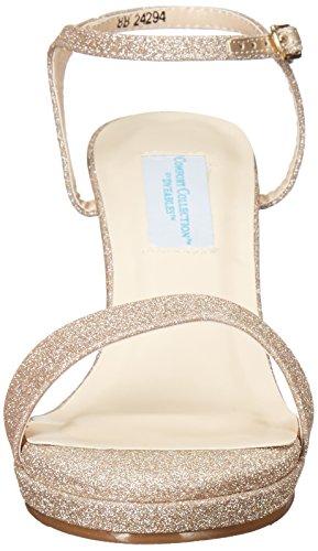 Dyeables Women's Aurora Heeled Sandal Champagne EVGwp7XuV