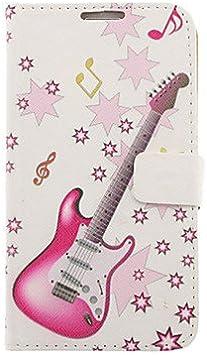 Dibujo guitarra eléctrica modelo-cuero-duro de la cubierta de ...