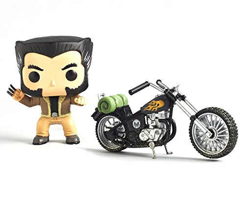 -Funko Pop Wolverine s Motorcycle -Marvel Collectors Corps Exclusive-
