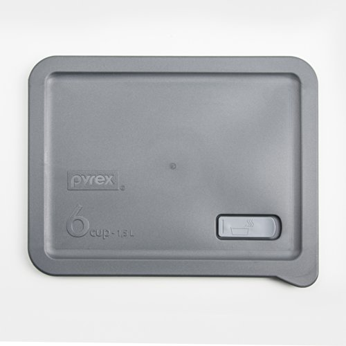 Pyrex No Leak - Grey 6 Cup Container Lid