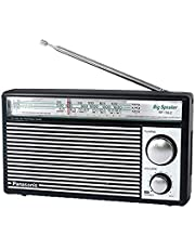 راديو باناسونيك محمول 3 موجات (الطراز: RF-562DGC1-K) - بني