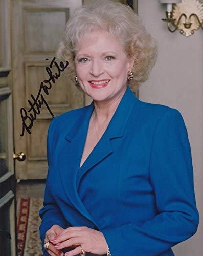BETTY WHITE (The Golden Girls) signed 8X10 photo from Authentic Autographs