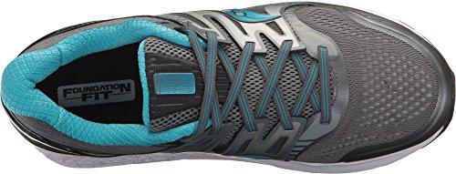 Saucony Women's Redeemer ISO 2 Running Shoe, Grey Blue, 8.5 Medium US