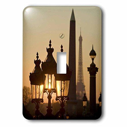 Danita Delimont - Paris - Place de la Concorde, Eiffel Tower, Paris, France - EU09 DBN0760 - David Barnes - Light Switch Covers - single toggle switch (lsp_81473_1)