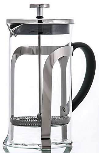 French Coffee Press & Tea Maker 8 cup – Heat Resistant Borosilicate Glass Carafe – with Triple Filters – 34 Oz Review