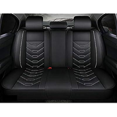 research.unir.net Motors Seat Covers BLACK GREY CAR SEAT COVERS ...
