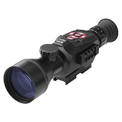 ATN X-Sight II 5-20 Smart Riflescope w/1080p Video, WiFi, GPS, Image Stabilization, Range Finder, Shooting Solution and IOS and Android Apps