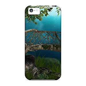 BInVoUa8946PVluL Case Cover Magic Place Iphone 5c Protective Case