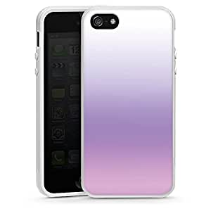 Apple iPhone 5 Case Shell Cover Silicone Case white - Pastel Dreams