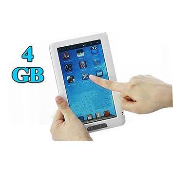 LCD de 7 pulgadas 4 GB Ebook Lector MP3 MP4 pantalla táctil ...