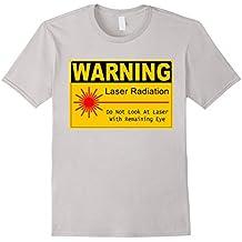 funny sign T Shirt laser radiation warning sign manufacturer