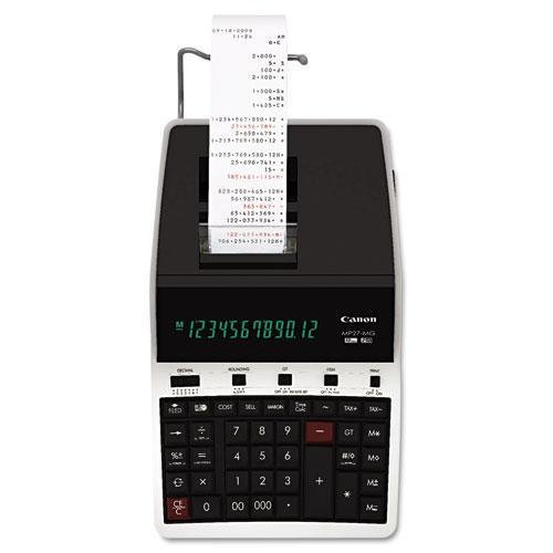 CANON 4642B001 MP27-MG Green Concept Printing Calculator, Black/Red Print, 4.8 Lines/Sec