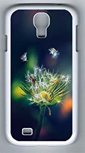 Dandelion Closeup PC Hard Case Cover For Samsung Galaxy S4 SIV I9500 Case and Cover White