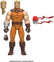 Boneco Marvel Legends Series X-Men Build-a-Figure, Figura de 15 cm - Dente-de-Sabre - F1009 - Hasbro