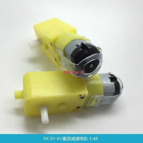 Price comparison product image Ngkc3C DC3V-6V DC Motor and TT Motor Magnetic Interference Intelligent Four-Wheel Drive car Chassis