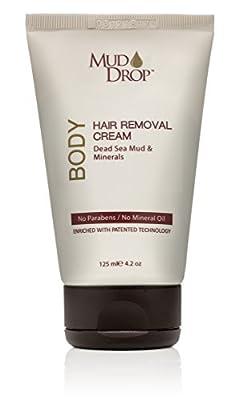 Mud Drop - Hair Removal Cream - Dead Sea Mud - Sensitive Formula
