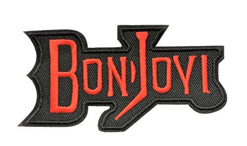 Bon Jovi Embroidered Iron-on Patch 4.5