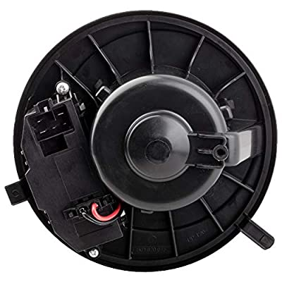 BOXI Heater HVAC Blower Motor Fan Assembly for Audi A3 A3 Quattro Q3 TT Quattro Volkswagen CC Eos Golf GTI Jetta Rabbit Tiguan (With Automatic Temperature Control) 700241 1K1820015E: Automotive