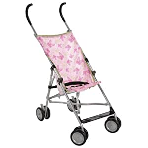 Cosco Umbrella Stroller without Canopy, Butterfly Dreams  (Discontinued by Manufacturer)