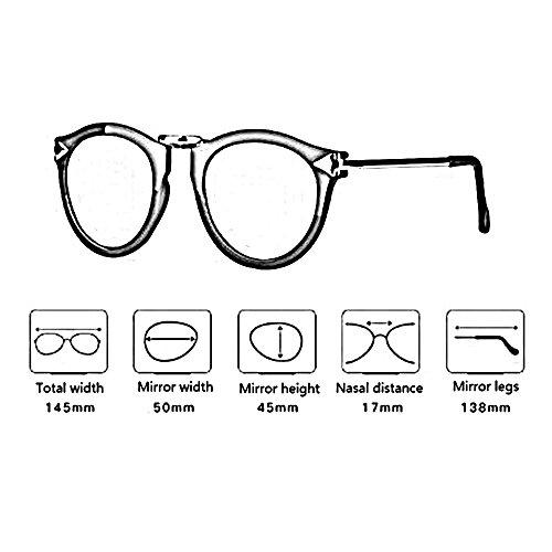 Color Luz al Gafas Aire Personalidad sol polarizadas Amazing Libre B Gafas B Hipster Femenina de 74q4B
