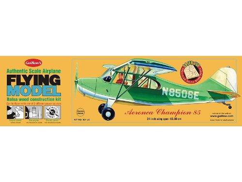 Guillows Balsa Wood - Guillow's Aeronca Champion Balsa Model Airplane Model Kit