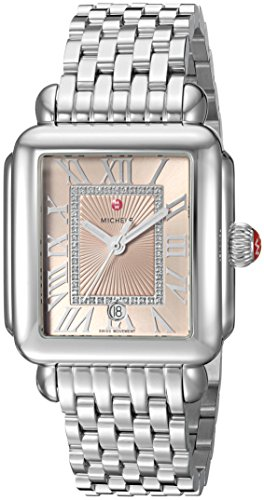 MICHELE-Womens-Deco-Madison-Swiss-Quartz-Stainless-Steel-Casual-Watch-ColorSilver-Toned-Model-MWW06T000148