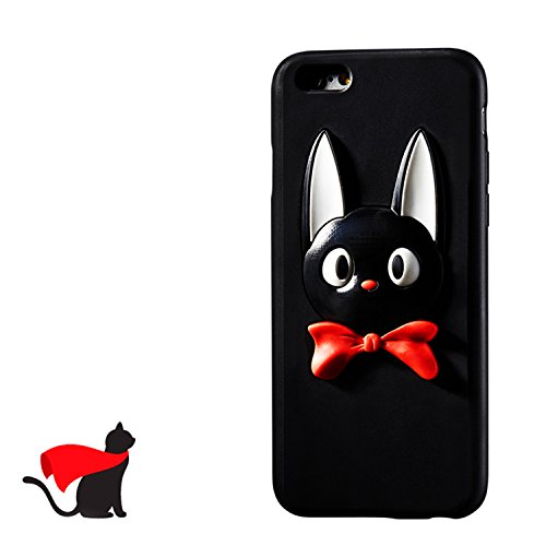 Unique Designer Iphone 8 Iphone 7 Plus Cases For Girls Kiki's Delivery Service Scratch-Resistant Cover for Apple 5.5 Inch Cats