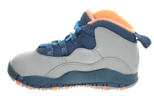promo code a35c9 15d42 official store jordan retro 10 powder blau for toddlers ...