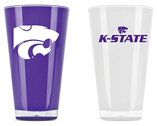 - Duck House Kansas State Wildcats Set of Two 20 Ounce Tumblers