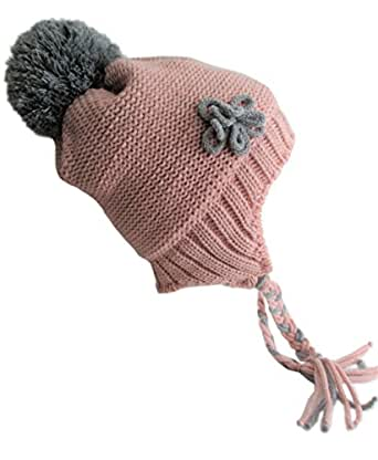 Amazon.com: Frost Hats Winter Hat for Girls LIGHT PINK