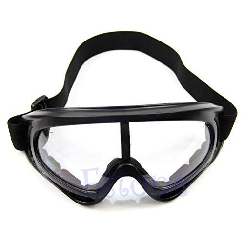 de antipolvo Transparente Frame ojo Lamdoo height 8cm esquí snowboard gafas motocicleta Gafas sol Transparente de wgqYqxBF