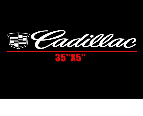 CADILLAC Vinyl Decal CTS Sticker Luxury Car Vinyl Lettering ()