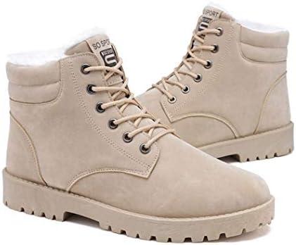 冬 メンズ ムートンブーツ 学生 メンズ靴 ブーツ 防寒 裏起毛 暖かい 保温 滑らない クリスマス スノーシューズ 歩きやすい カジュアル フラット 防汚 短靴 トレンド 防寒 ウインターブール 綿靴 レースアップ