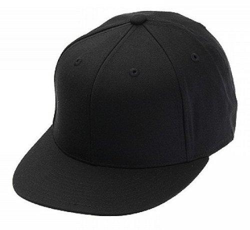 Original FLEXFIT Premium 210 Fitted Basecap in versch. Farben (S/M - bis 58 cm, Black)