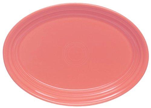 Fiesta 9-5/8-Inch Oval Platter, Flamingo