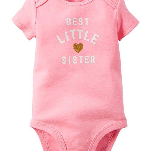 Carters Girls Little Sister Bodysuit