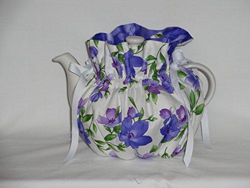 Pretty Violets 6 Cup Reversible Tea Pot Cozy (Violets Teapot compare prices)